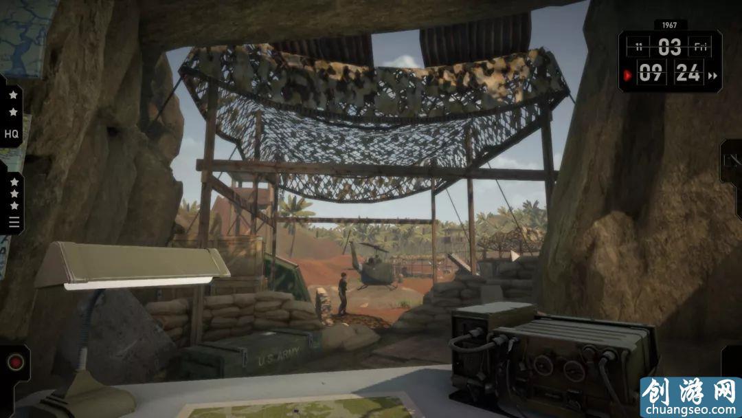 一款拥有创新玩法的战争沙盘模拟游戏