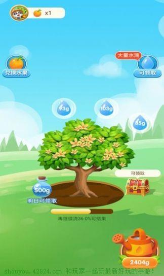 宝宝来种树红包版截图3