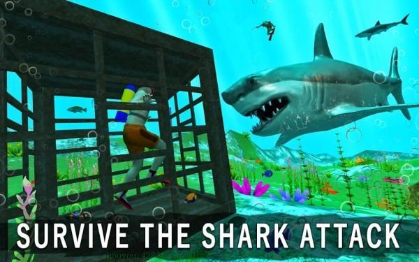 鲨鱼猎手3D截图1