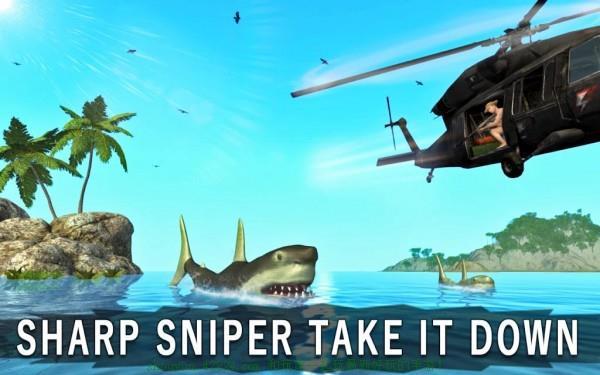 鲨鱼猎手3D截图2